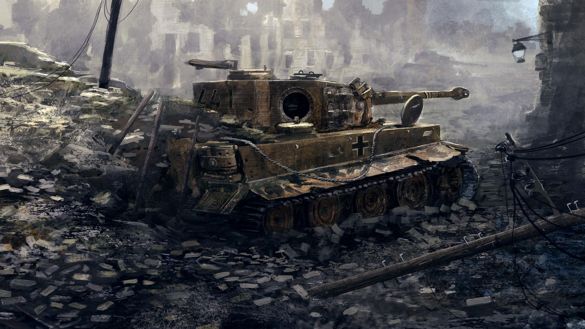 tiger tank wallpaper HD – wallpapermonkey com