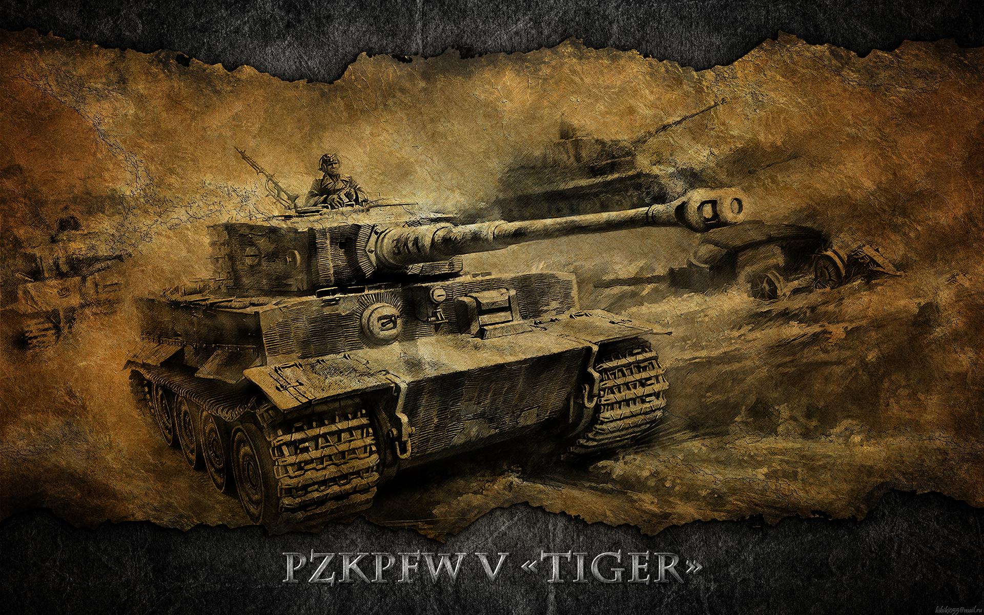 Tiger Tank Wallpaper Photos 12533 - Amazing Wallpaperz