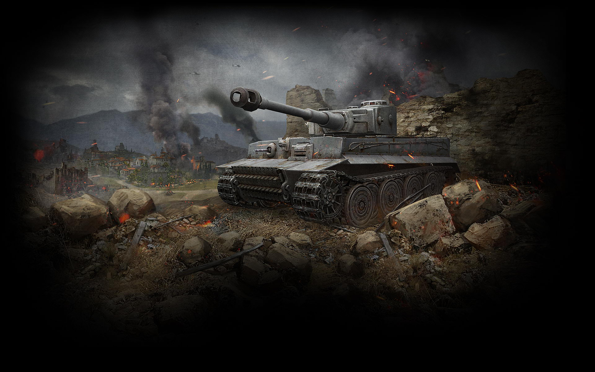 Image for Tiger Tank World of Tanks Wallpaper wide 01 | Tanques