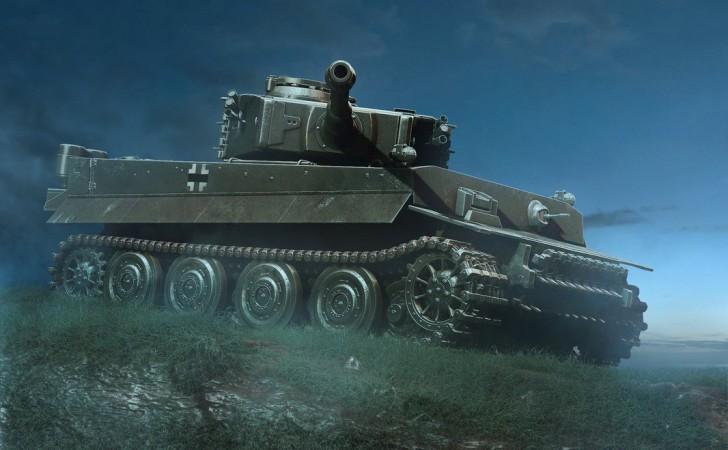Tiger Tank Wallpaper for iPhone - WallpaperSafari