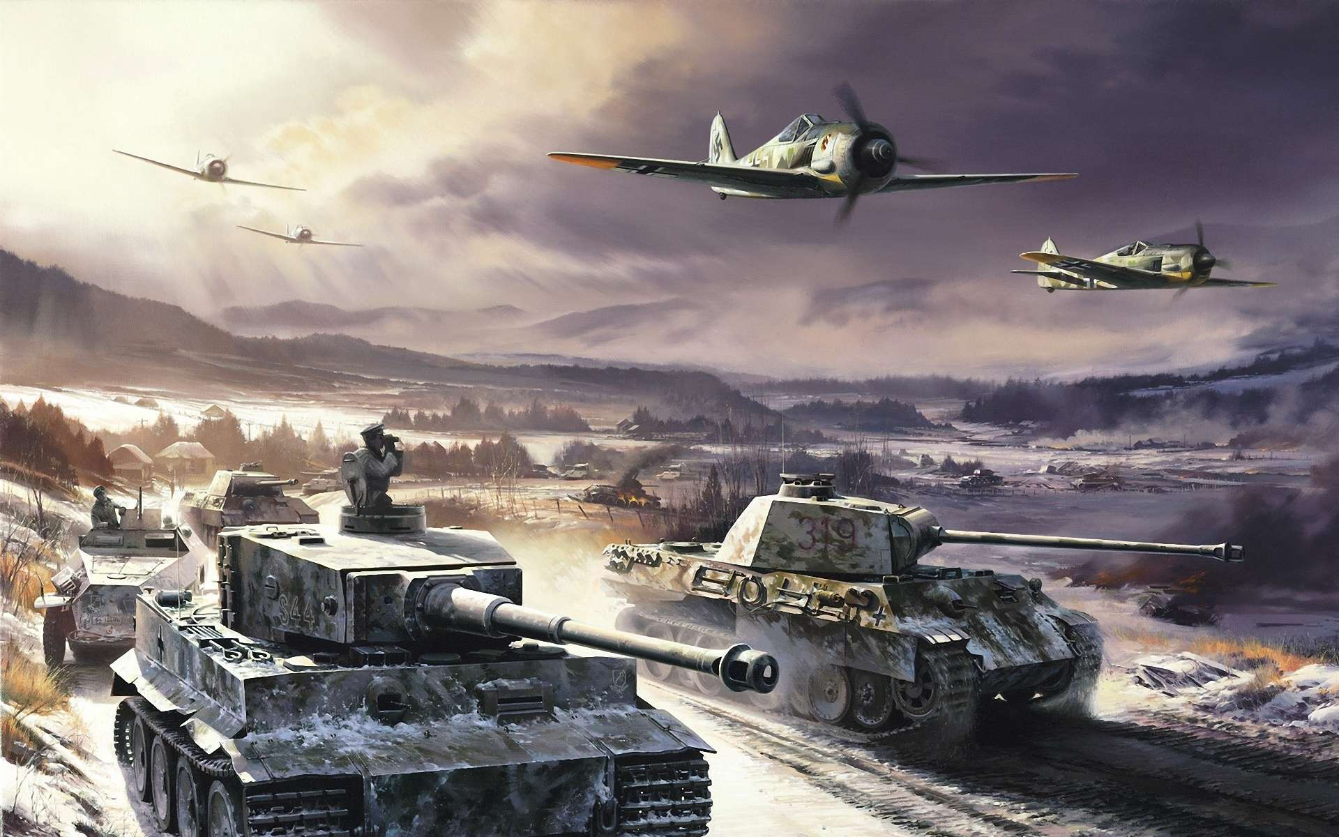 Tiger Tank HD Wallpapers Best Collection Of Tiger1 & Tiger2