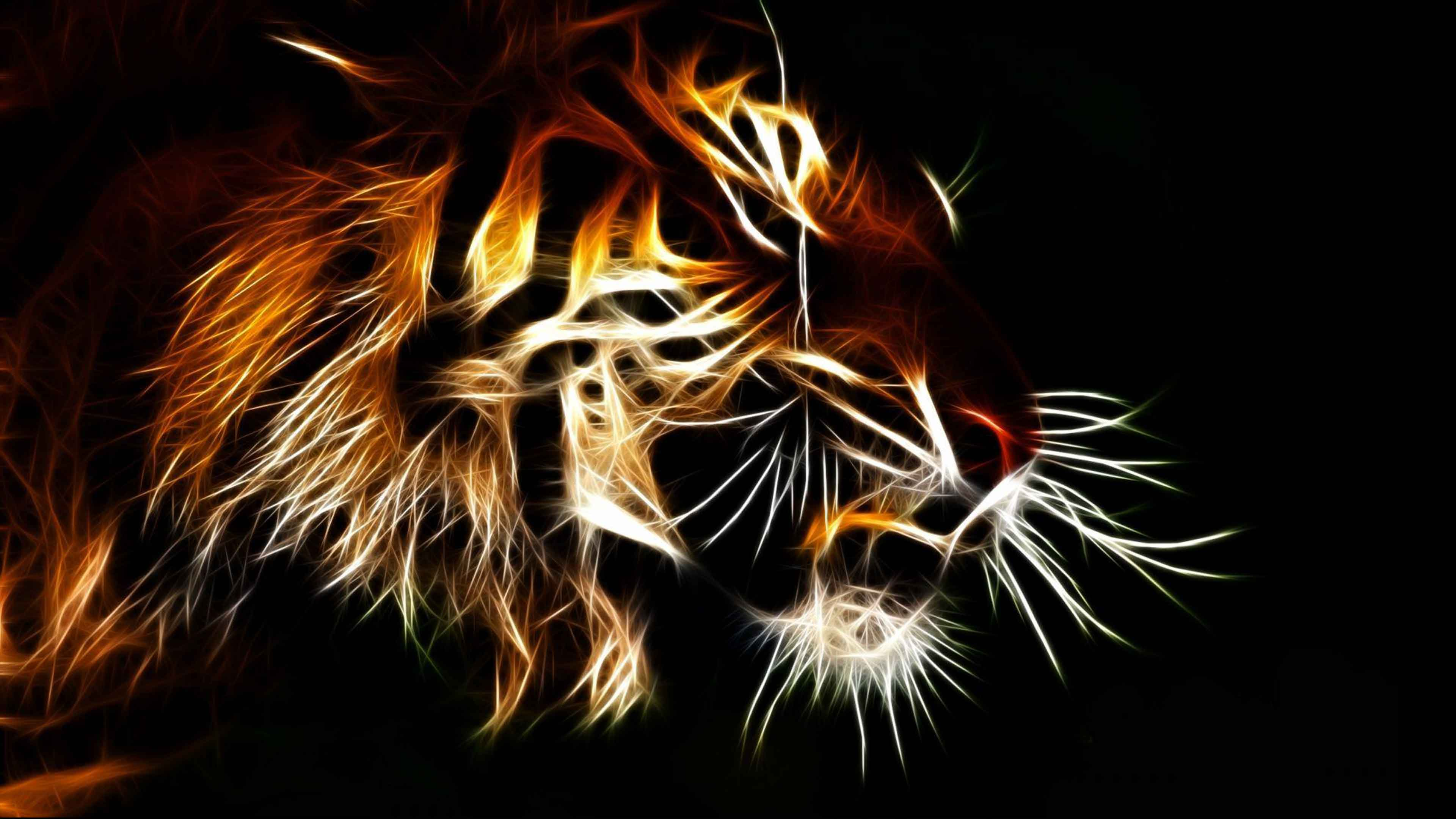 3d Animated Tiger Wallpapers - 3d wallpaper HD