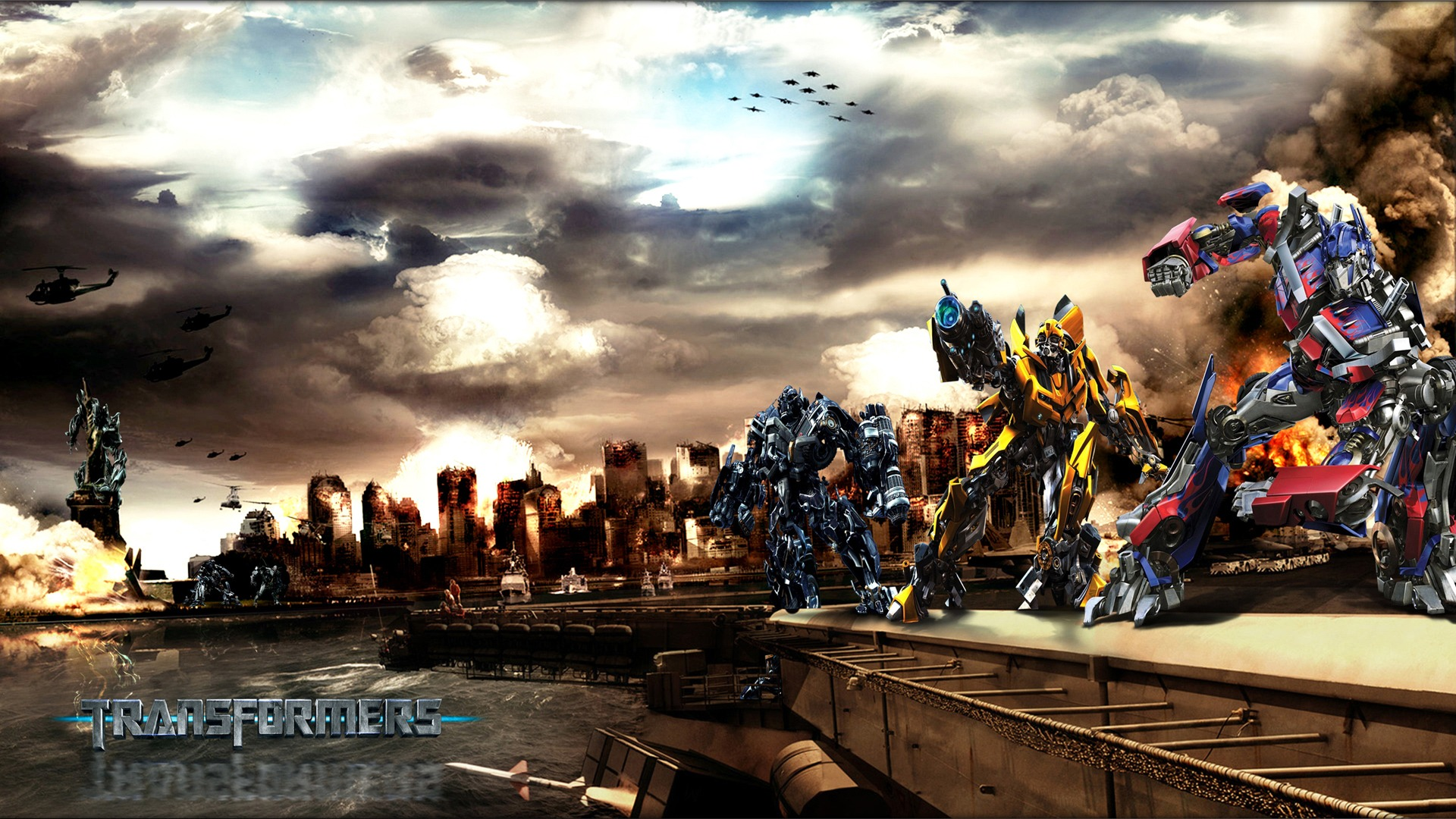 transformer movie wallpaper - sf wallpaper