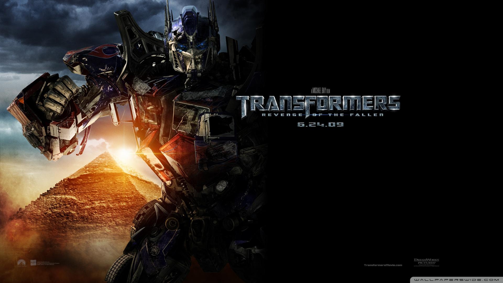 Transformers Revenge Of The Fallen HD desktop wallpaper