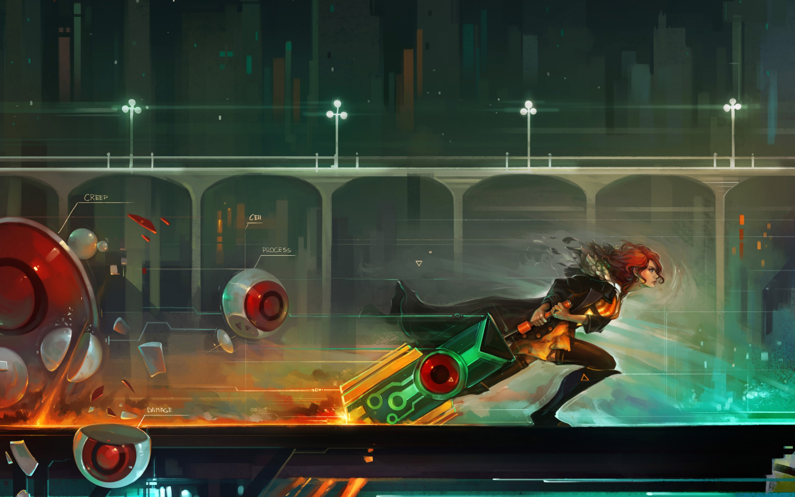 38 Transistor HD Wallpapers   Backgrounds - Wallpaper Abyss