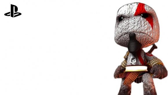 LBP Kratos Transparent PS Vita Wallpaper