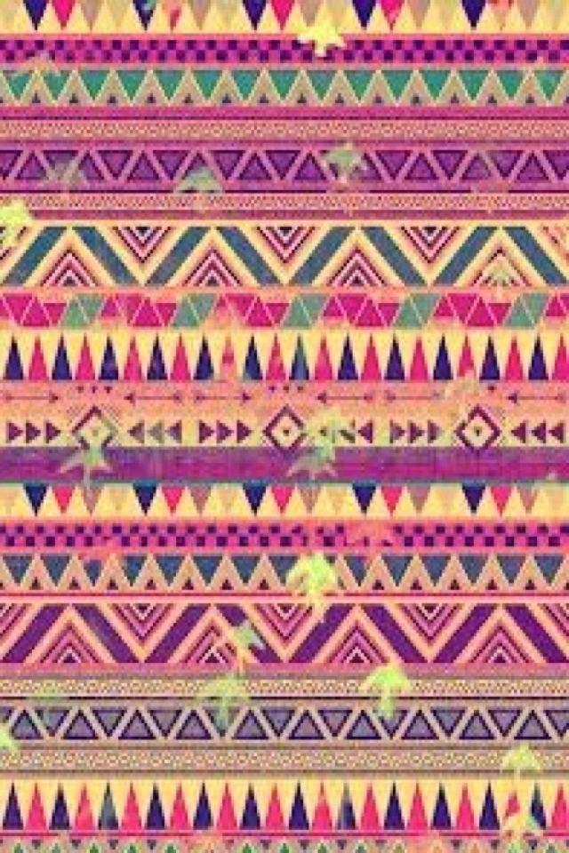 10 Ideas About Tribal Pattern Wallpaper On Pinterest