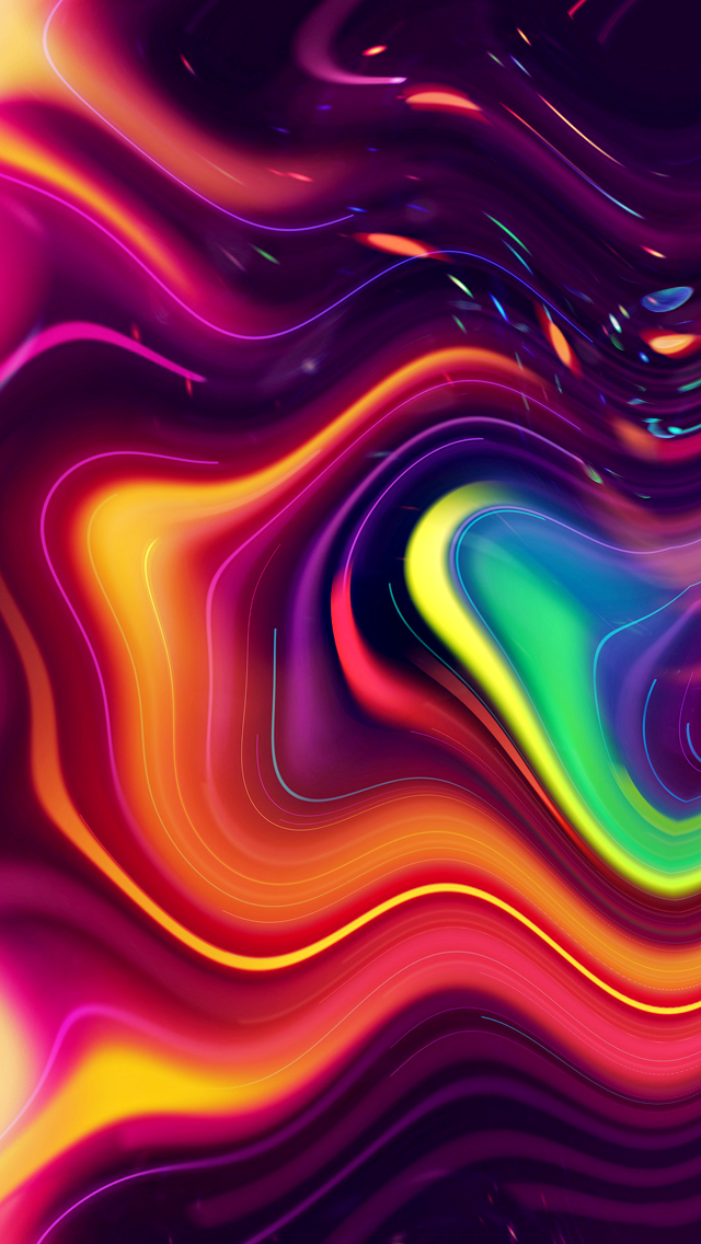 Psychedelic iPhone 5 Wallpapers