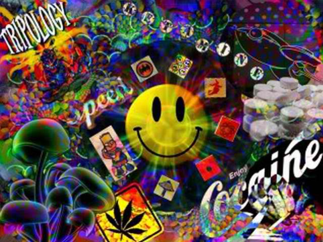 Trippy Weed Wallpaper | Best Cool Wallpaper HD Download