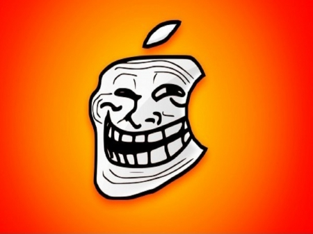 Macs Troll Face - Other & Technology Background Wallpapers on