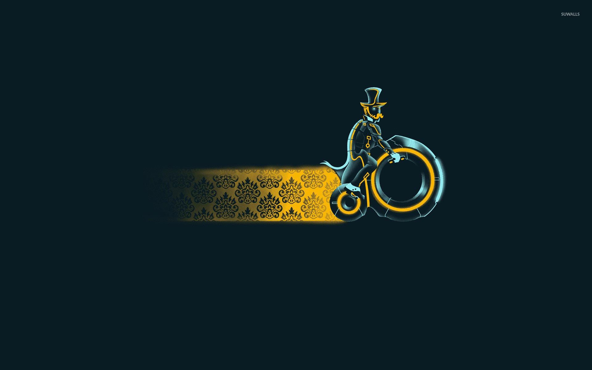 Vintage tron bike wallpaper - Funny wallpapers - #16945