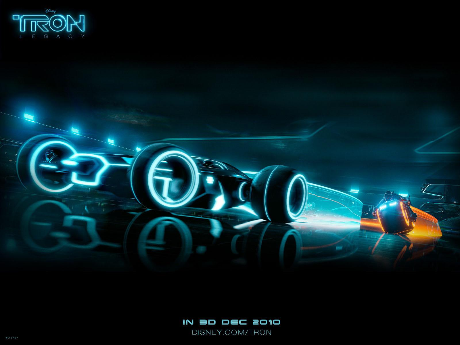 Tron Legacy Desktop Bike Wallpaper