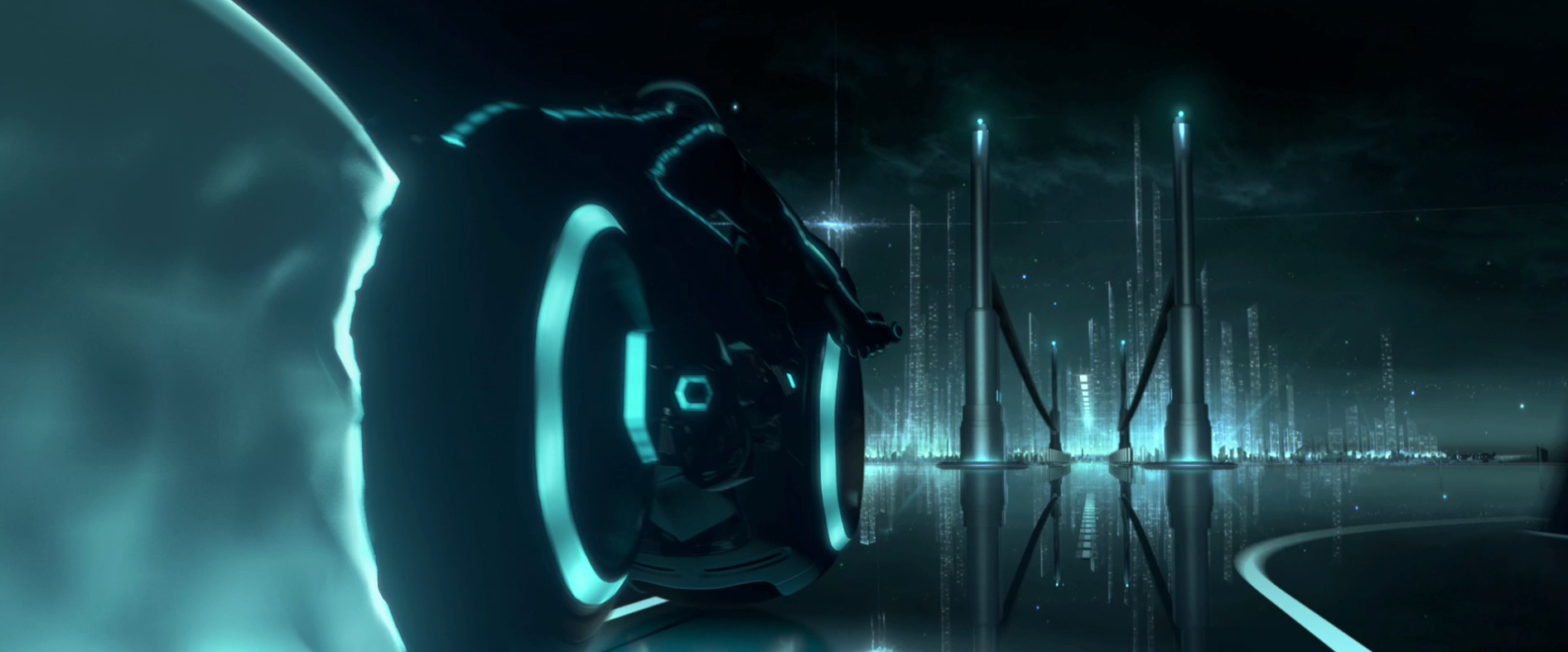 Tron Legacy Backgrounds Group (80+)