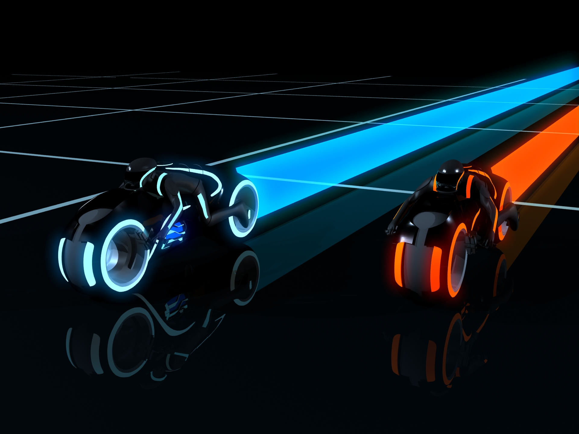 Tron Legacy Light Cycles by PForbes88 on DeviantArt