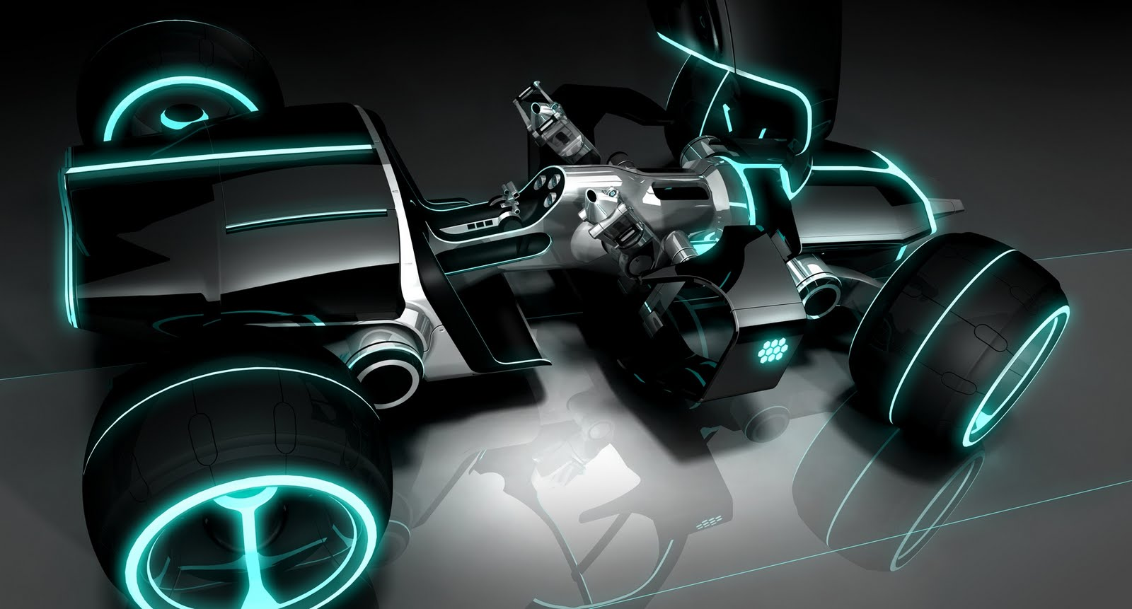 Tron+Motorcycle | Tron Legacy Light Cycle and hot rod desktop