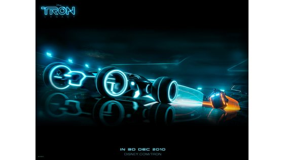 Page 5 - TRON Legacy : Light Cycle Yellow Wallpaper Gallery