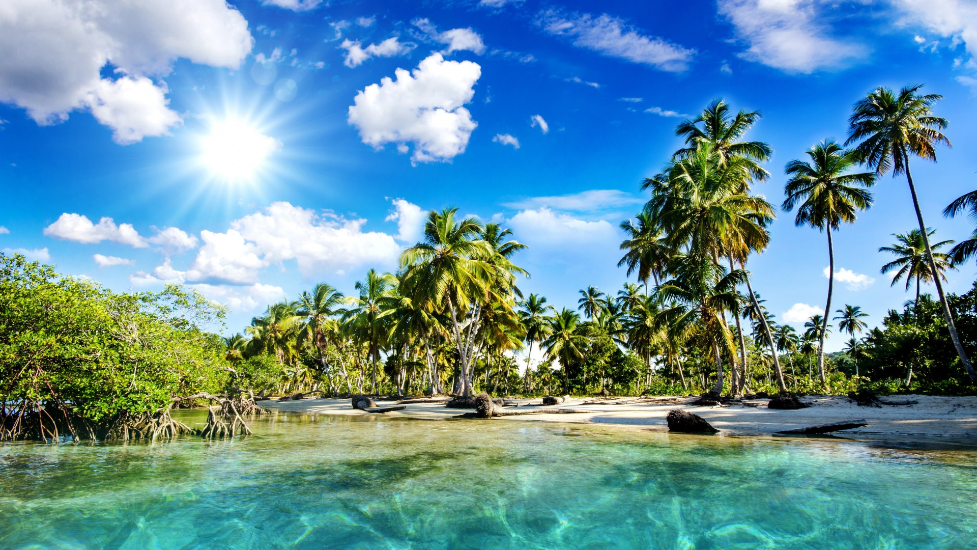 Tropical beach pictures wallpapers sf wallpaper tropical beach wallpapers voltagebd Choice Image