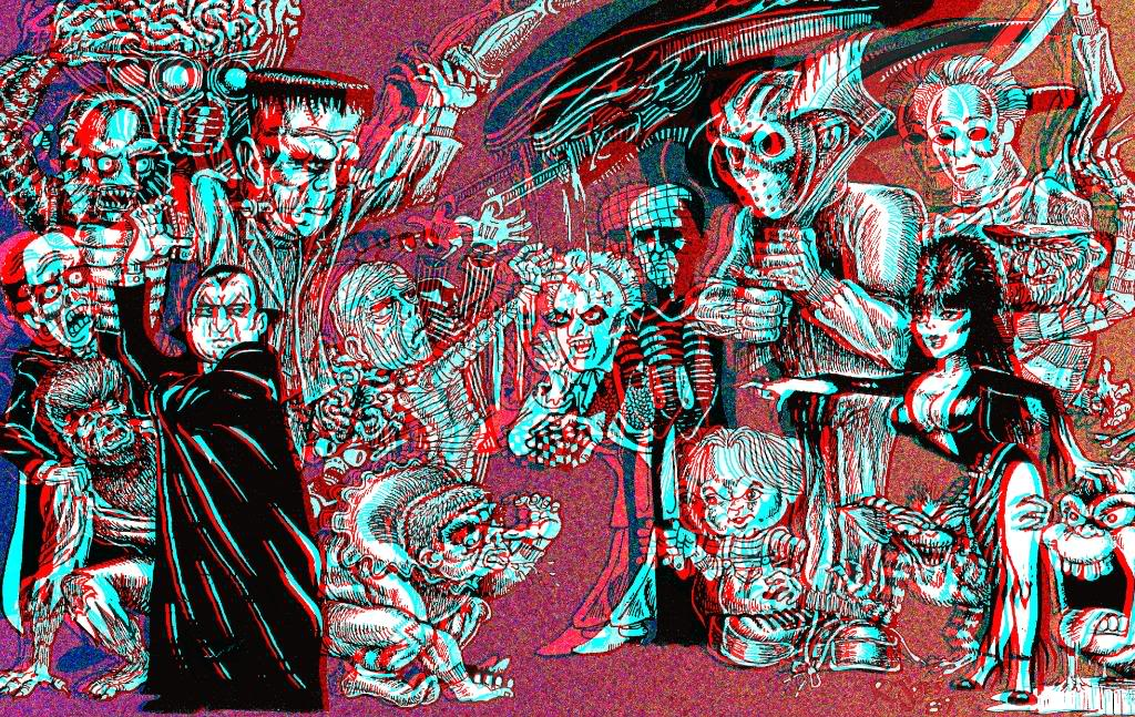 Universal Monsters Wallpaper Sf Wallpaper