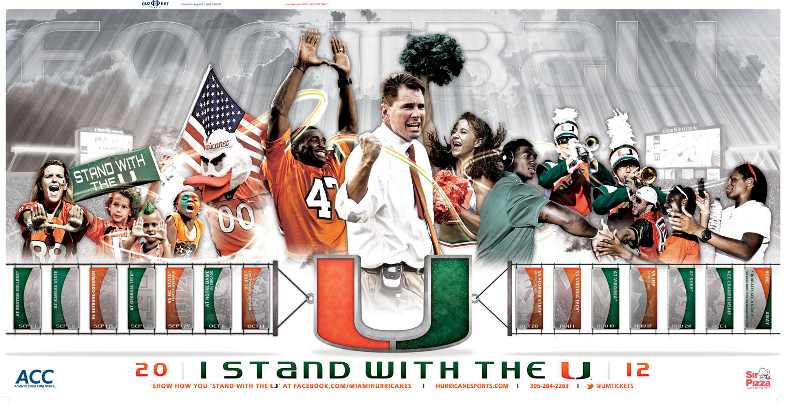 2012-13 & 2011-12 Wallpapers - University of Miami Hurricanes