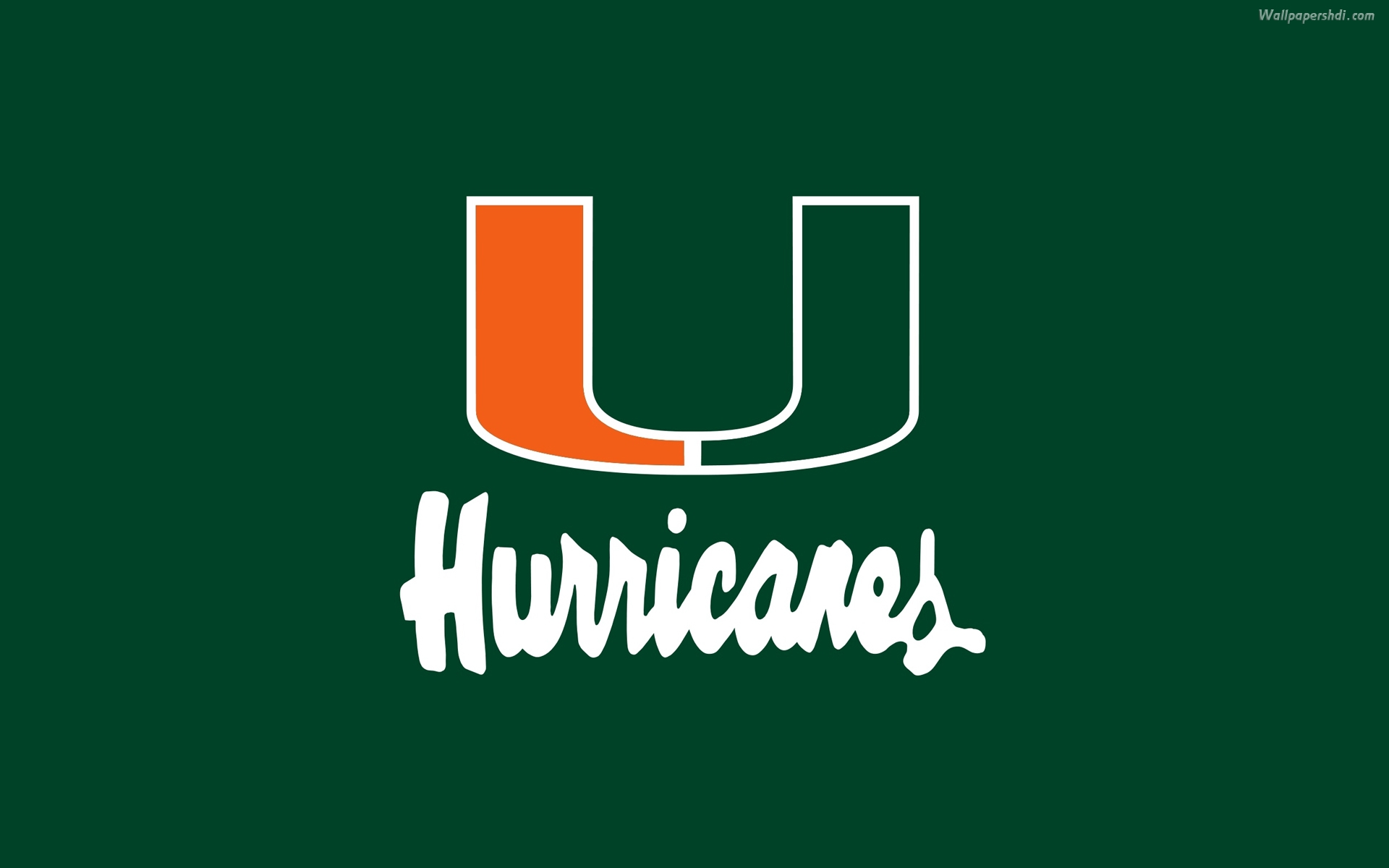 Miami Hurricanes Football Wallpaper - http://wallpaperzoo com