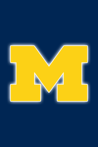 Free Michigan Wolverines iPhone & iPod Touch Wallpapers