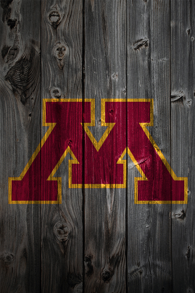 Minnesota Golden Gophers Wood iPhone 4 Background | Minnesot… | Flickr