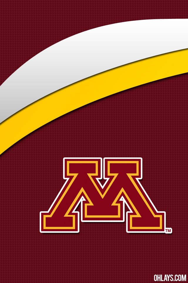 Minnesota Golden Gophers iPhone Wallpaper | #5419 | ohLays