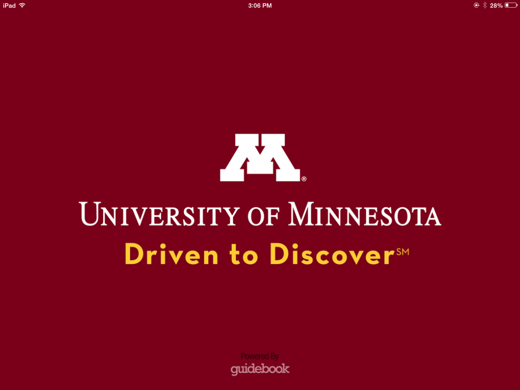 University of Minnesota App – Access to the Job Fair in the Palm