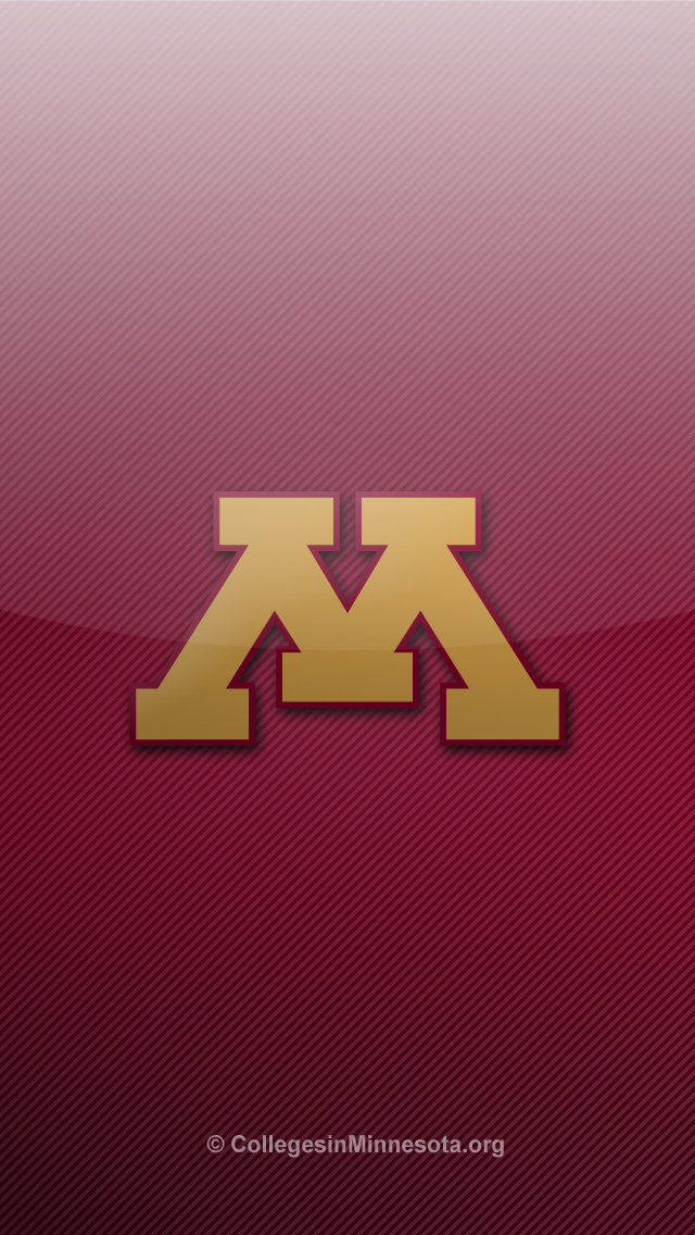 University of Minnesota Golden Gophers iPhone 5 Wallpapers