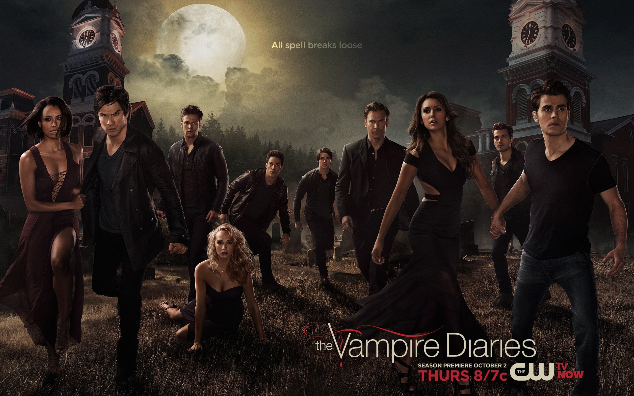 The Vampire Diaries Season 6 Exclusive HD Wallpapers #7205