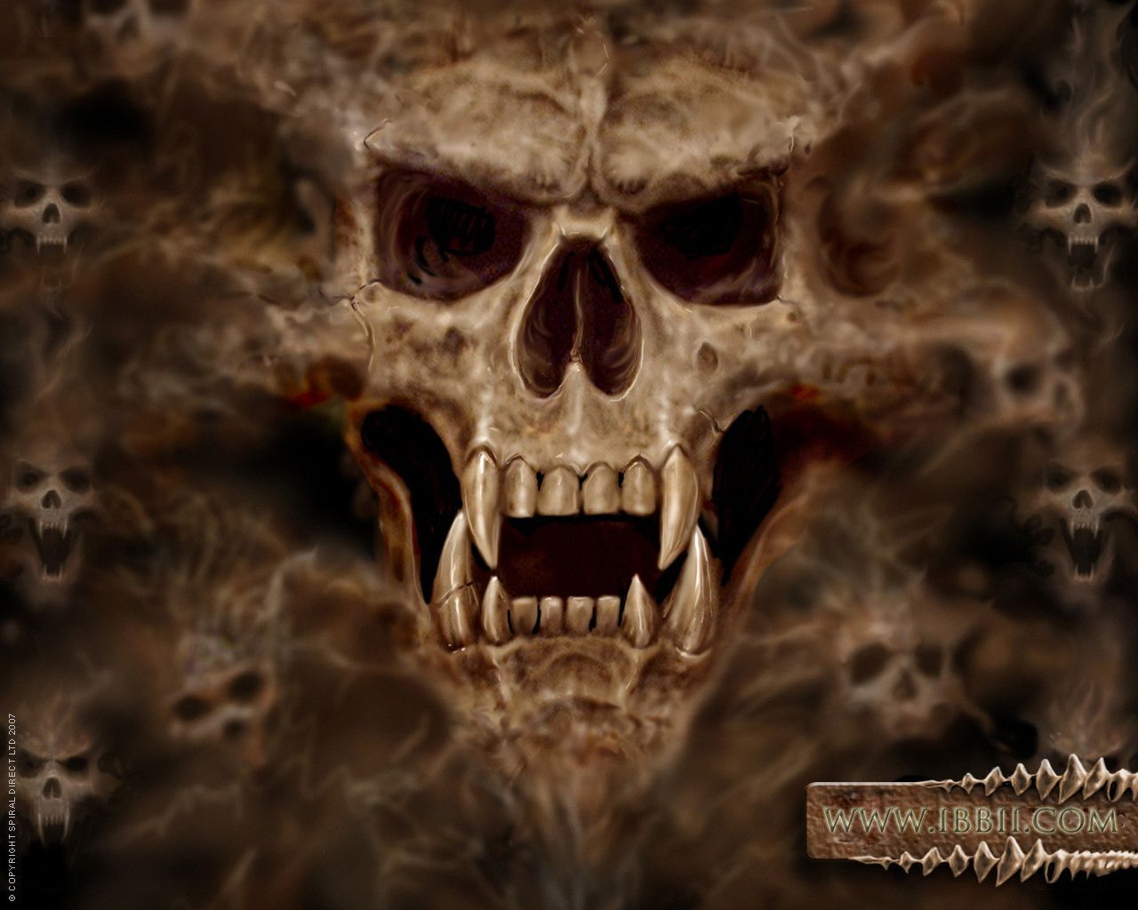 Vampire Skull Wallpapers - Wallpaper Cave