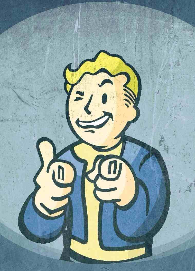 Vault Boy Mobile Wallpaper Gaming