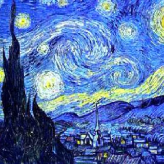 Classic Art Ideas for the House- Vincent van Gogh Starry Night