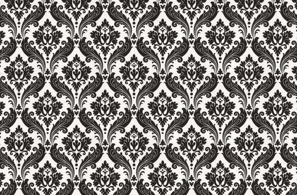 Vintage Black And White Rose Wallpaper