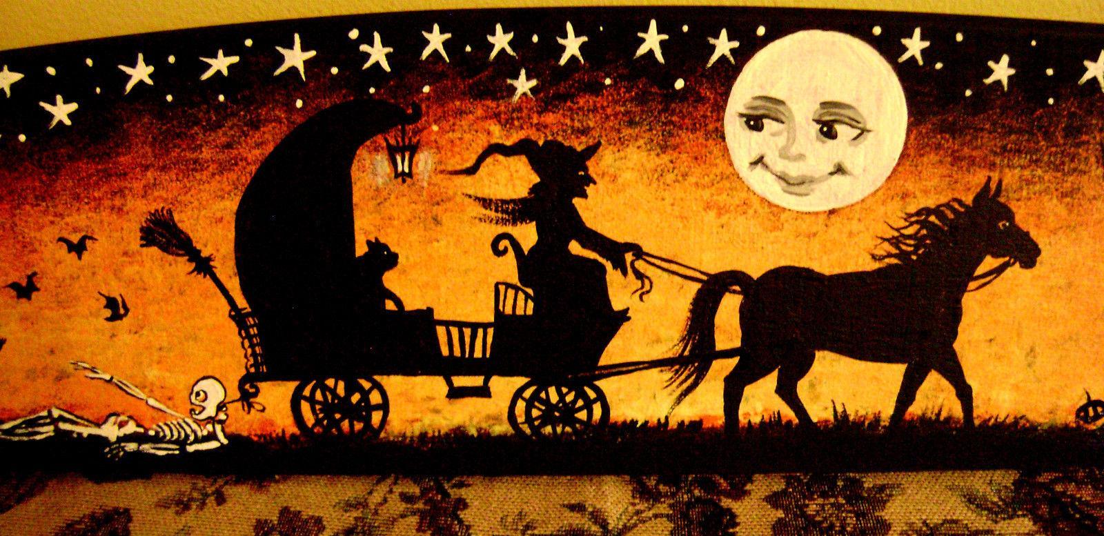 Vintage Halloween Wallpapers Group (54+)