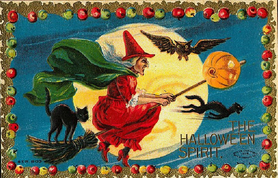 Halloween Wallpaper: Vintage Halloween Wallpapers, Vintage
