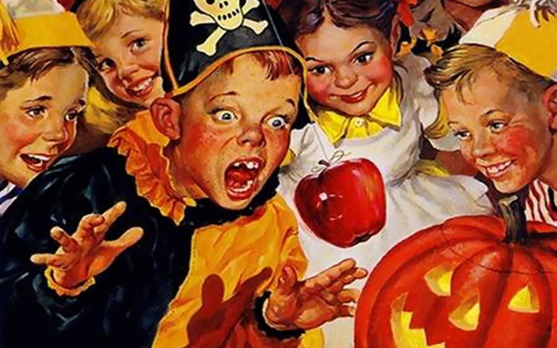 Vintage Halloween, HDQ Backgrounds, Alexandra Farryan