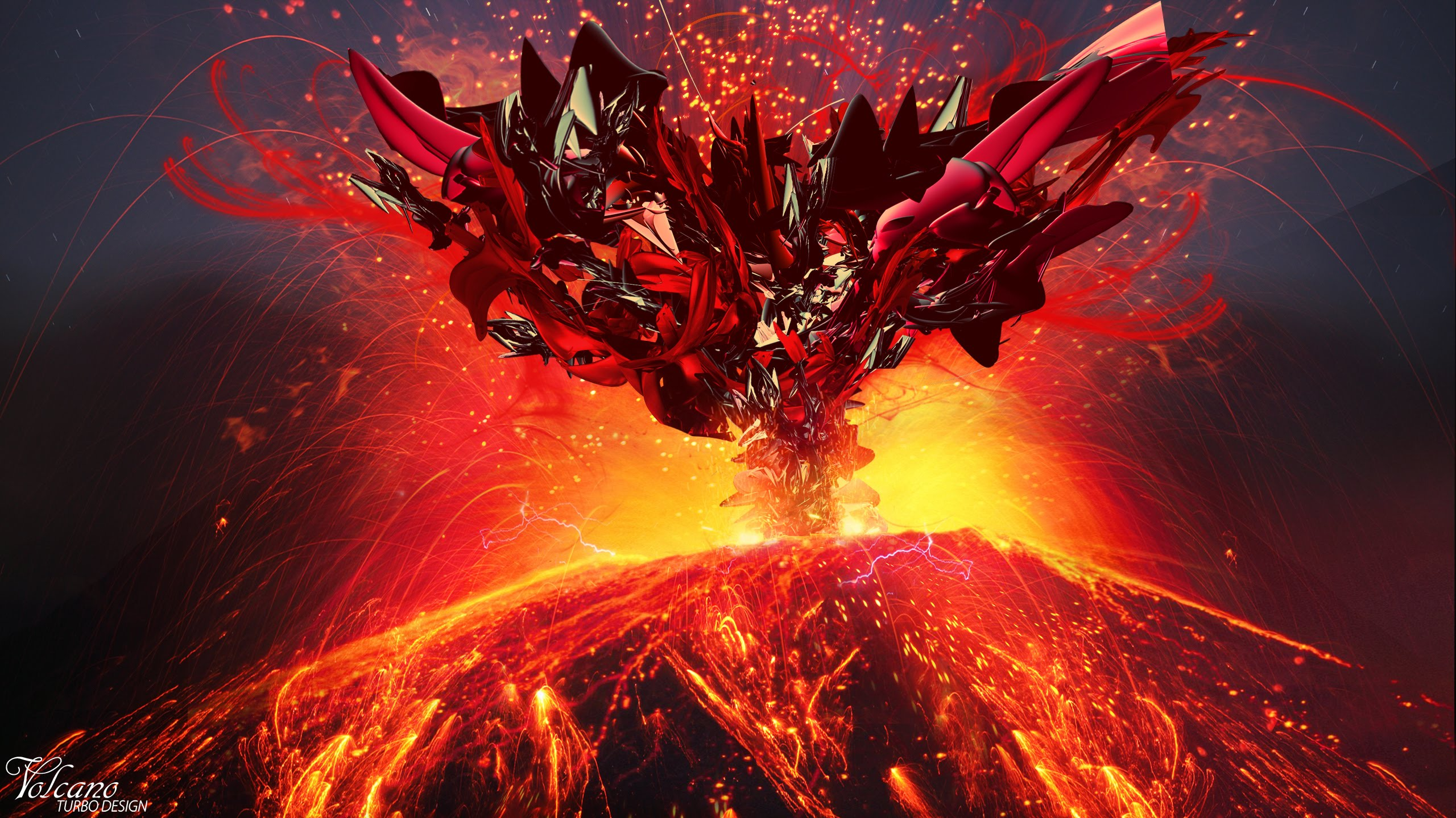 Volcano Live Wallpaper - YouTube