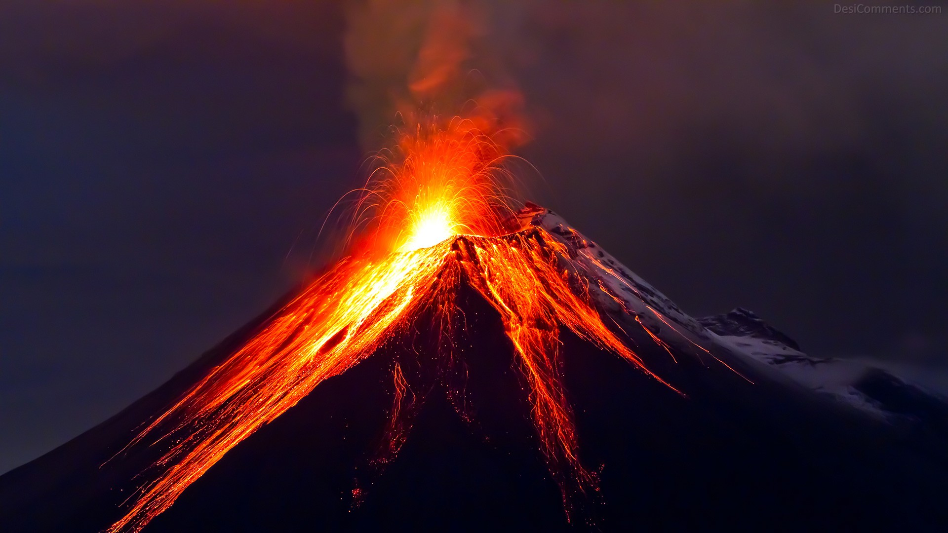 Volcano wallpaper | 1920x1080 | #53777