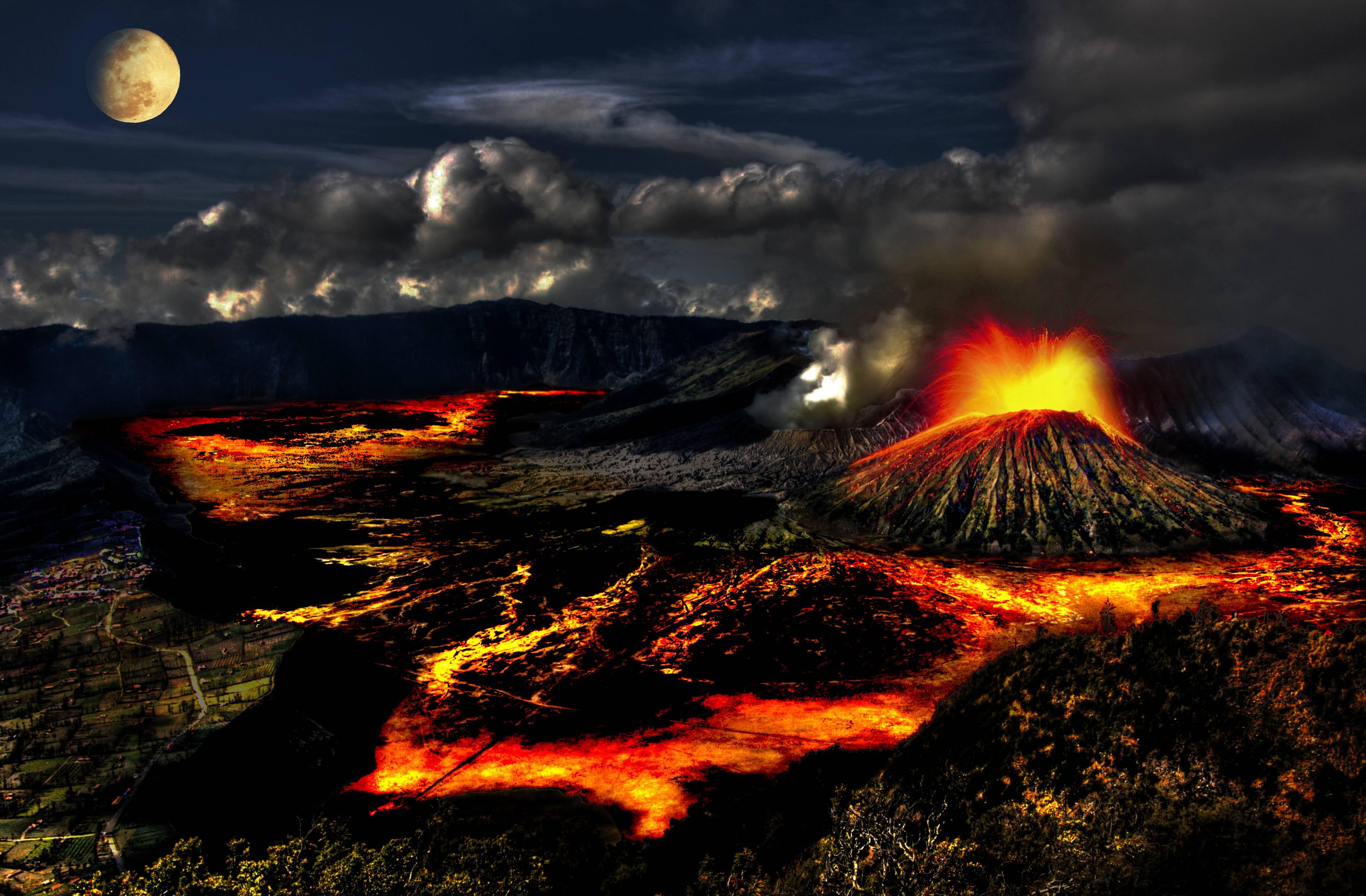 Volcano Wallpapers - Wallpaper Cave