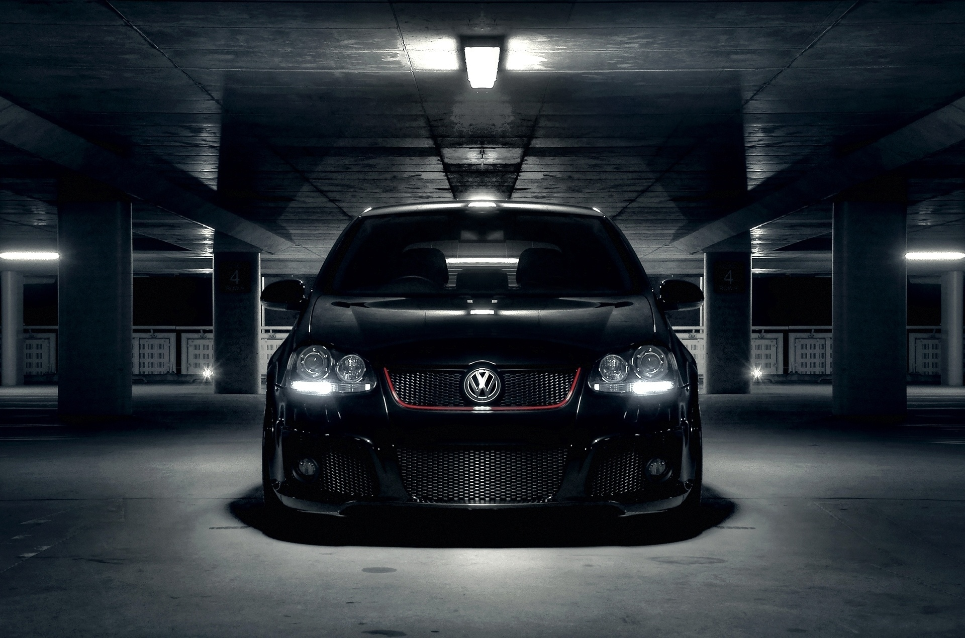 Volkswagen Golf Wallpaper  Volkswagen Golf Wallpaper Black