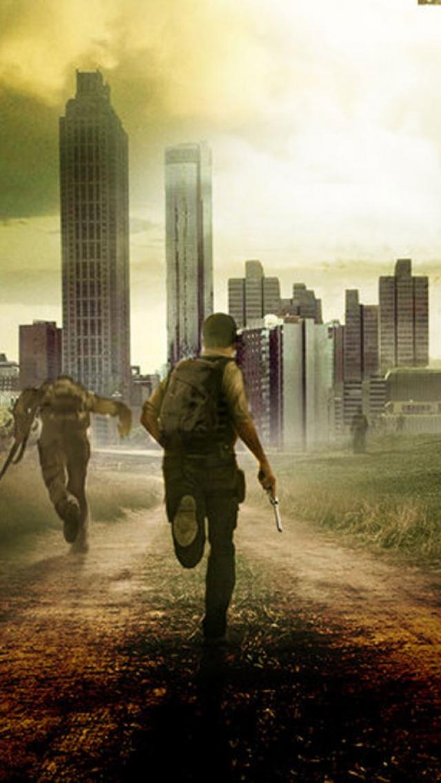 Free Wallpapers - Walking Dead Wallpaper