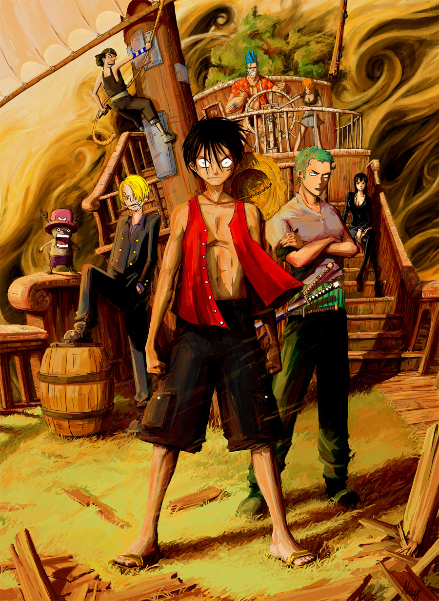 Wallpaper 3d One Piece SF Wallpaper