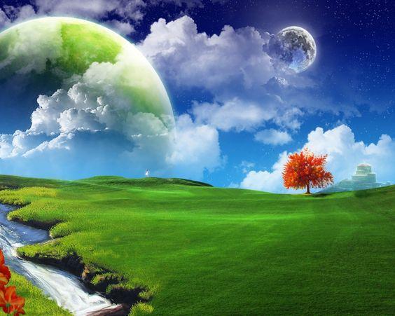 3D Nature Wallpaper for Desktop Free Download - Find more Stunning