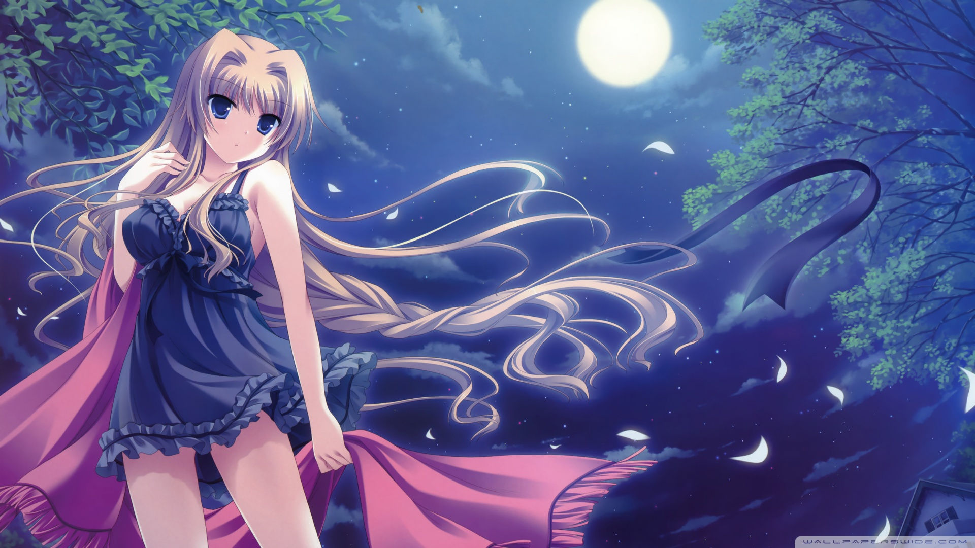 Anime Girl HD desktop wallpaper : High Definition : Fullscreen