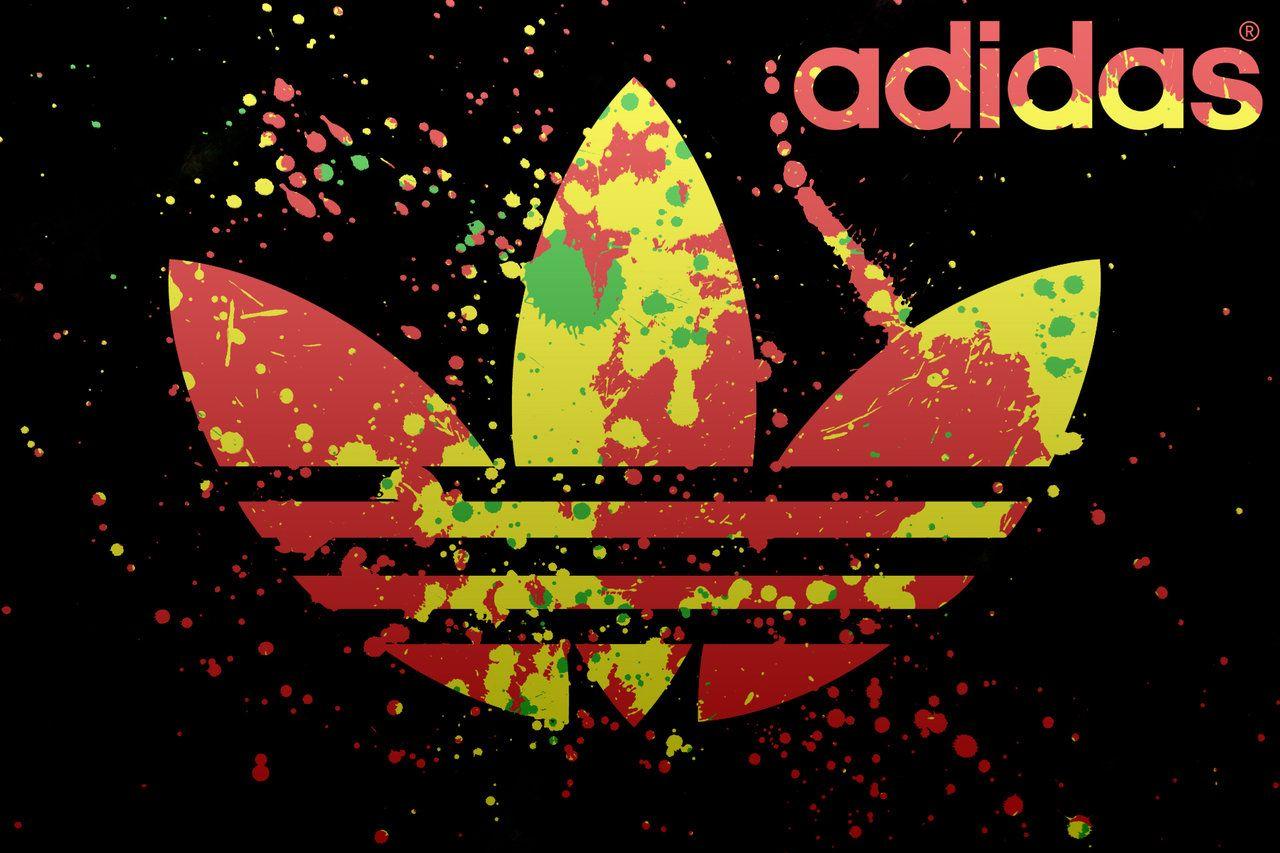 Wallpaper Logo Adidas Keren