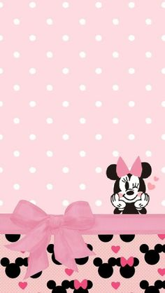 MINNIE MOUSE IPHONE WALLPAPER BACKGROUND | IPHONE WALLPAPER