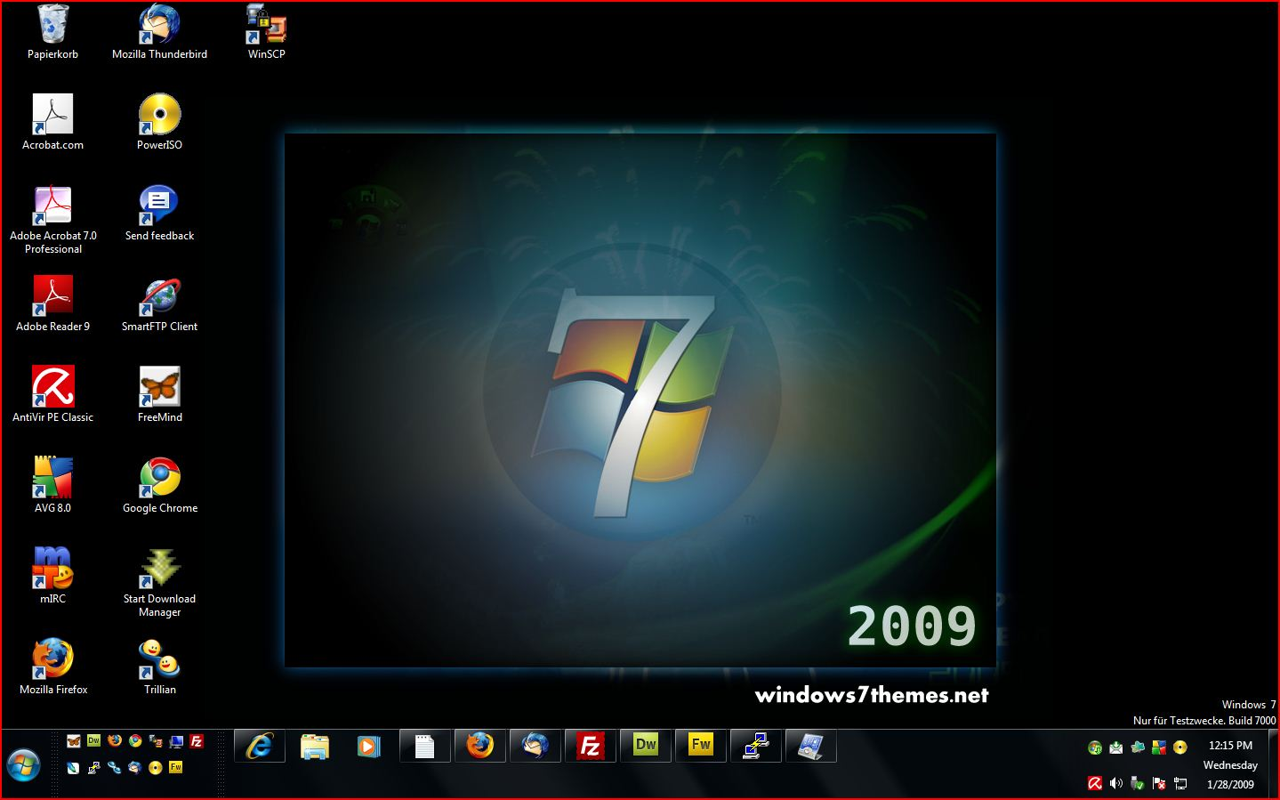 Windows 7 background themes - SF Wallpaper