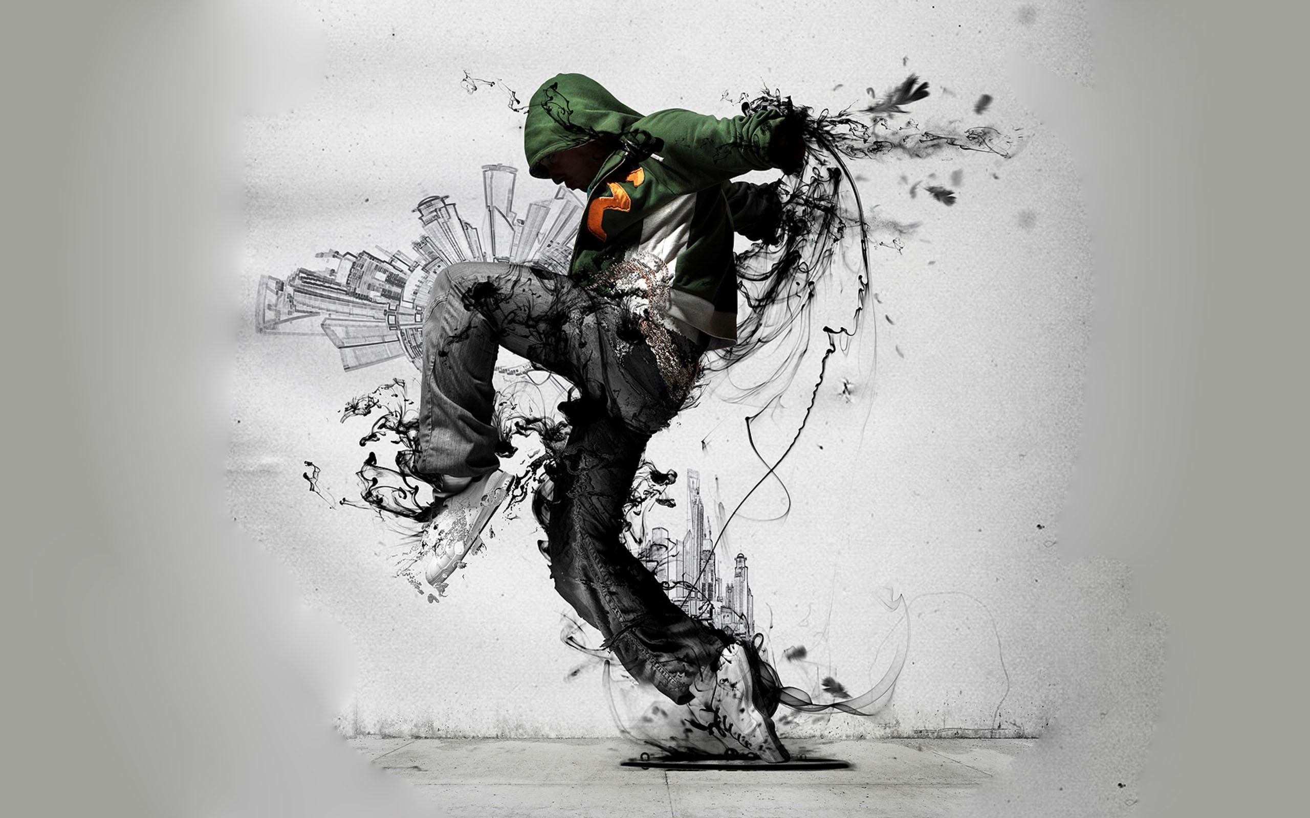 3D HD Wallpaper Hip-Hop Dance 2560×1600 - High Definition