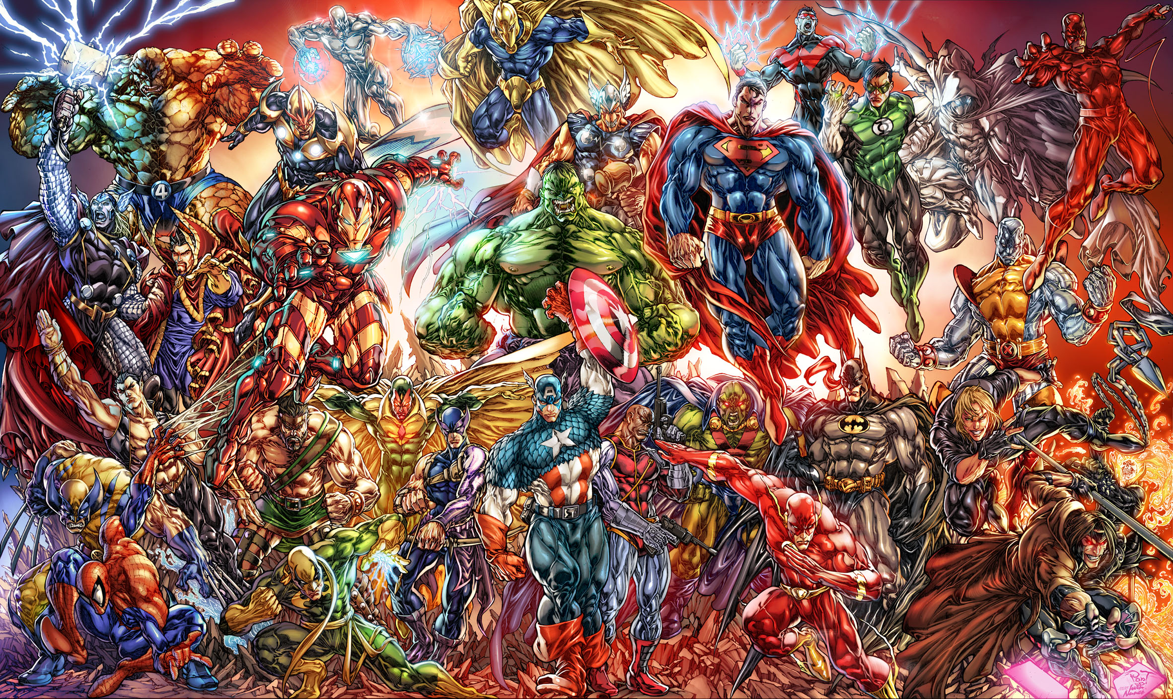 464 Marvel Comics HD Wallpapers | Backgrounds - Wallpaper Abyss